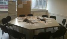 Seminarraum 6 als 12er- Tisch